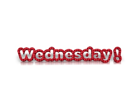 wednesday: Wednesday 3d word