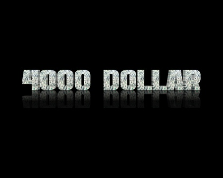 $ 4000 3d word
