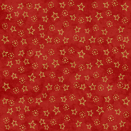 rich red Christmas Stars background photo