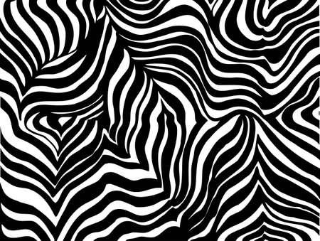 Zebra strip background