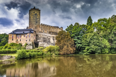 Summer view of historically castle Kost/Czech Republic Reklamní fotografie