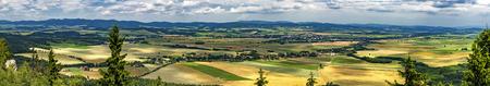 Summer panoramic view of Adrspach-Teplice rocksCzech Republic Reklamní fotografie