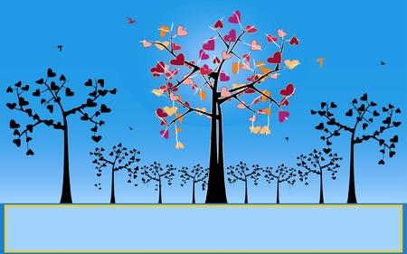 curledup: love tree