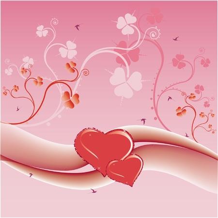 curledup: lovers Illustration