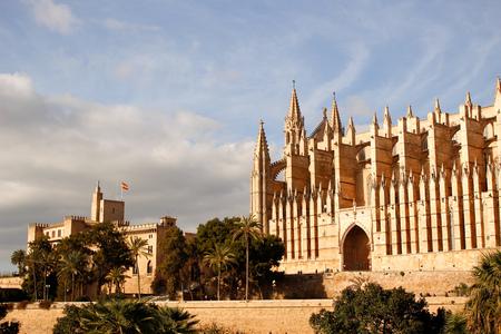 cathedral of palma de mallorca gothic historic architecture