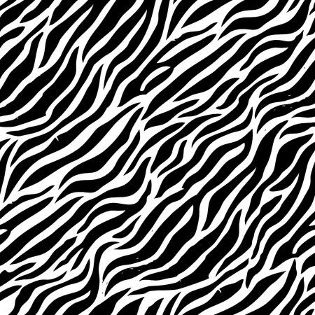 zebra skin: Seamless colorful animal skin texture of zebra