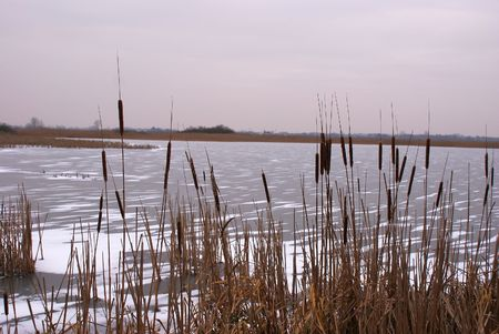superstructure: This is the frozen lake at winter of course.
