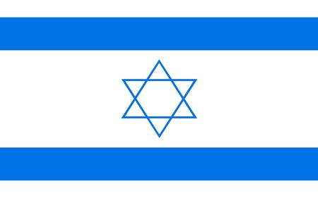 polity: This is Israel flag illustration, computer generated.