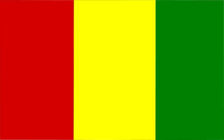 polity: This is Guinea flag illustration, computer generated. Illustration