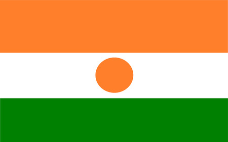 polity: This is Niger flag illustration, computer generated. Illustration