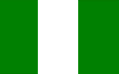 polity: This is Nigeria flag illustration, computer generated.