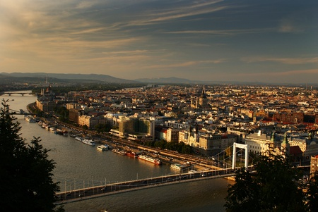 This is a view of Budapest - capital city of Hungary