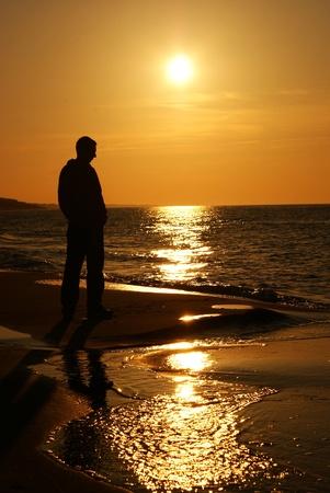 Sea tramonto