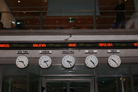 existence: Open day on the Warsaw Stock Exchange - the school of exchange made because of twenty years of GPW existence. 16 april 2011