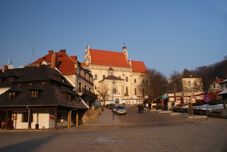 Old city view from main street
