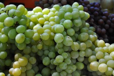 greengrocer: Esta es una vista de los frutos en frutas y verduras.