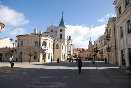 This is a view of Lublin City, Poland