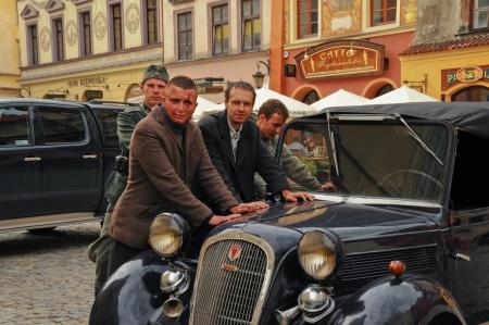 rudy: Movie making  Kamienie na Szaniec  in Lublin, September 20, 2013