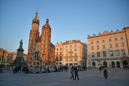 malone: This is a view of Cracow City. March 17, 2016 Cracow, Poland.