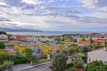 This is a beautiful apartment in Krk. September 3, 2017. Krk, Croatia.
