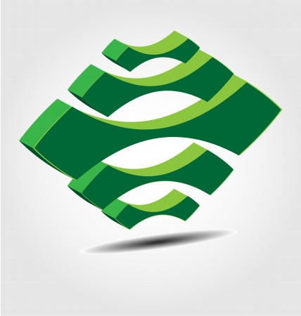 Design of the Eco brand logo/icon/element Stock Vector - 15526151