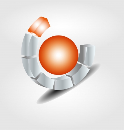 Originally designed vector brand logo Stock Vector - 15403355
