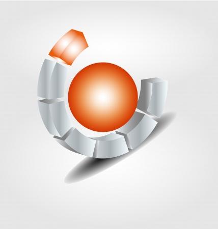 Originally designed vector brand logo