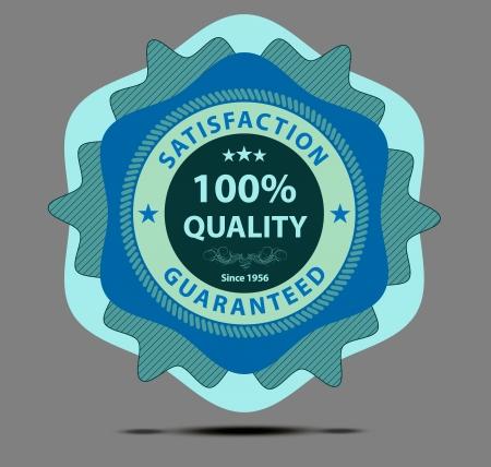Blue shopping label sticker Stock Vector - 15407473