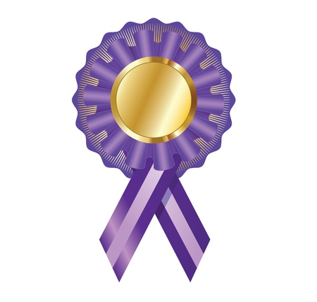 Elegant illustration of the certificate award medal label for various creative needs Stock Vector - 15399381
