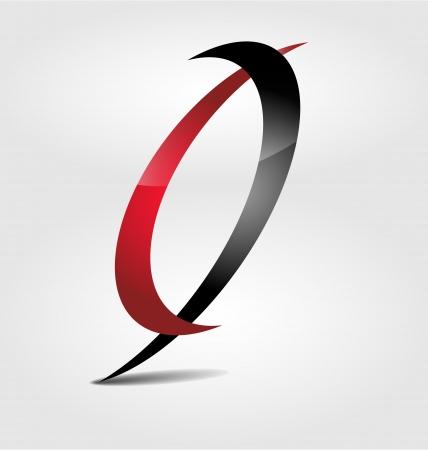 environnement entreprise: Con�u � l'origine marque rouge-noir logo
