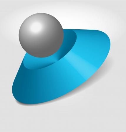 abstract logo design (3D)