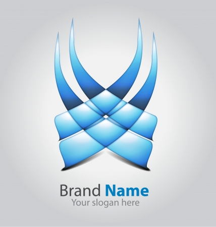 Originally designed abstract brand logologotype