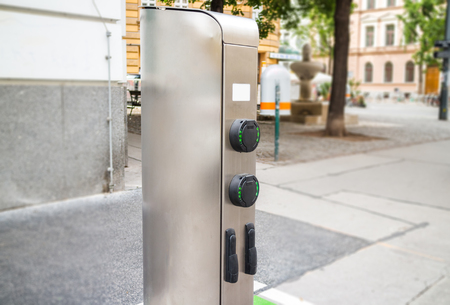 Electric Car charging station unit