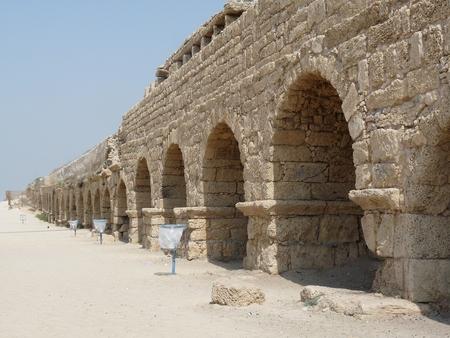 aqueduct: Cesarea Aqueduct, Israel