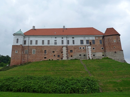 royals: The Royal castle in Sandomierz, Poland Editorial