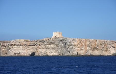marys: St. Marys tower, Comino Island, Malta