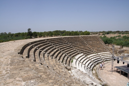amphitheatre: The Salamis Amphitheatre, Northern Cyprus