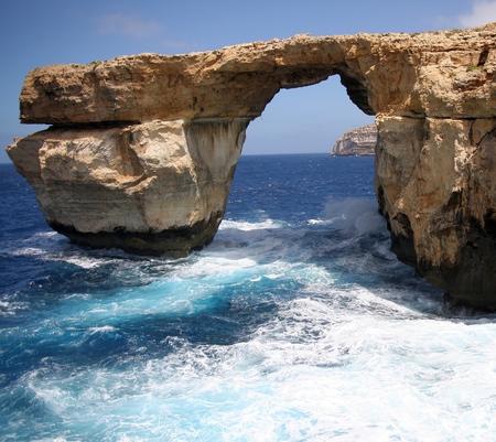 azure: Azure Window, Gozo Island, Malta
