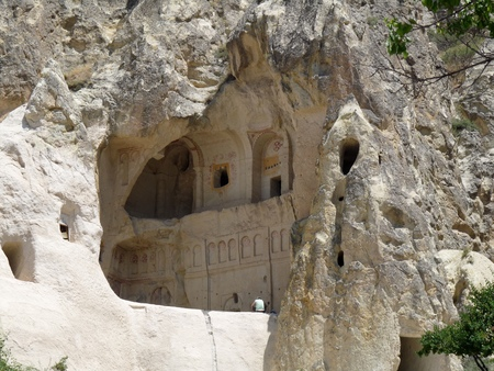 goreme: A chapel in rock, Goreme, Cappadocia, Turkey