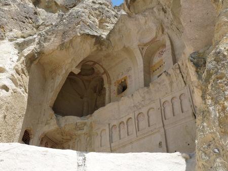 goreme: A chapel in rock, Goreme, Cappadocia, Turkey