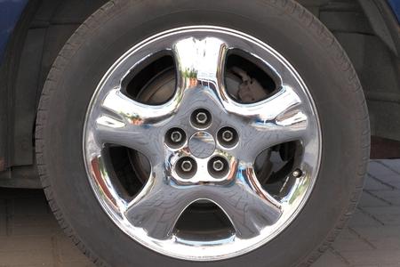 chrome: Chrome & aluminum rim