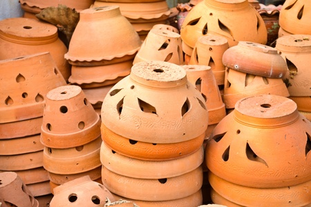 Thai Style garden-pot Stock Photo - 13327279