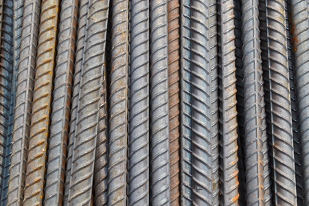 Close up Steel Rod  Stock Photo - 13327228