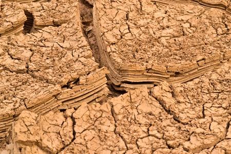 strata: rock strata layers of the soil Stock Photo