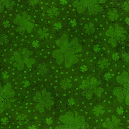 eroded: grungy st patrick background
