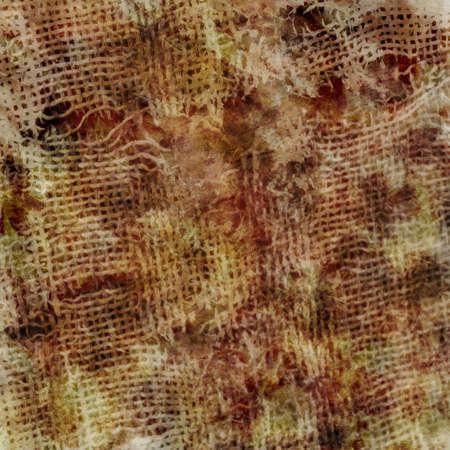 ragged: old ragged fabric
