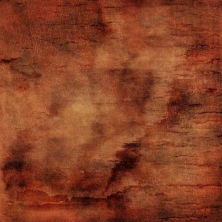 sackcloth: vintage torn fabric in brown