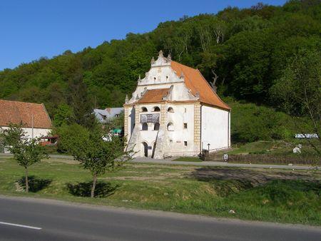 kazmierz dolny: Old granary, Kazmierz Dolny in Poland