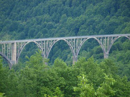 hill of tara: Bridge over the Tara River, Montenegro