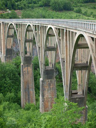 serbia and montenegro: Bridge over the Tara River, Montenegro